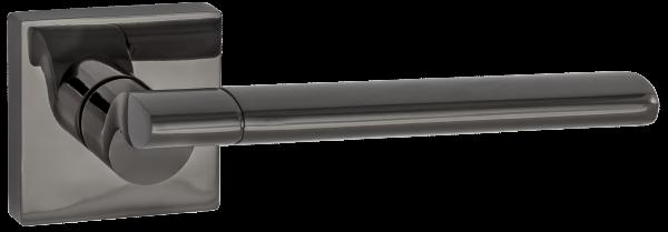 """Дверная ручка RENZ """"Марчелло"""" DH 57-03 BN черный никель"""