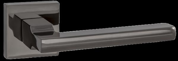 """Дверная ручка RENZ """"Рим"""" DH 53-03 BN черный никель"""