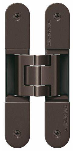 Скрытая петля SIMONSWERK TECTUS TE 340 3D до 80 кг бронза тёмная (SW176)