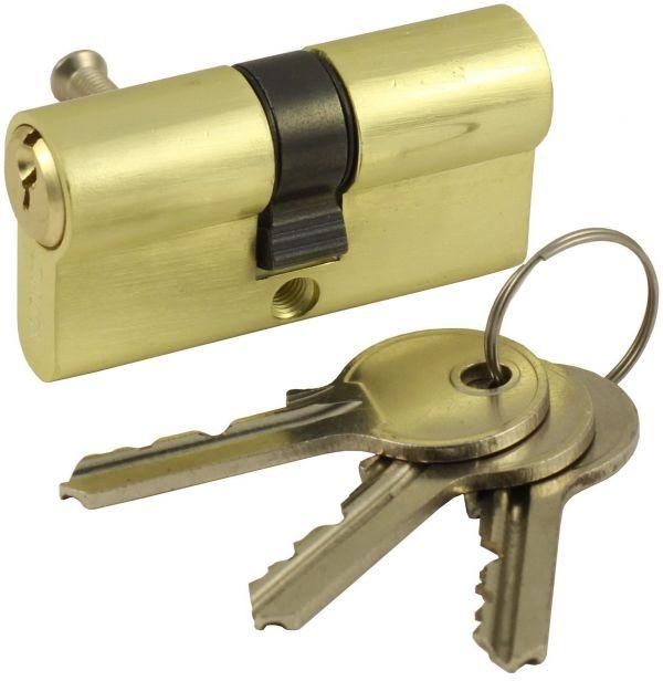 Цилиндровый механизм Vantage V70-5 (30x40) SB матовое золото