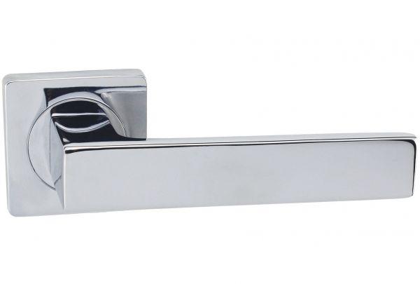 Дверная ручка VANTAGE V41 на квадратной розетке CP хром